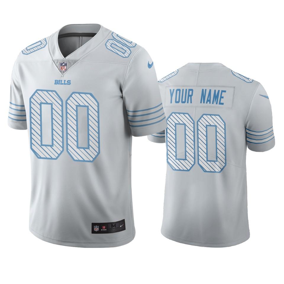 Buffalo Bills Custom White Vapor Limited City Edition NFL Jersey