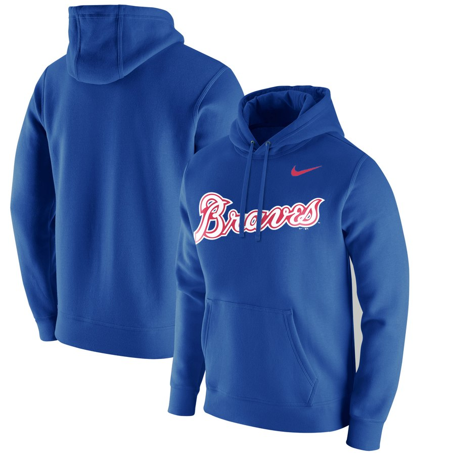 Atlanta Braves Nike Franchise Hoodie Royal