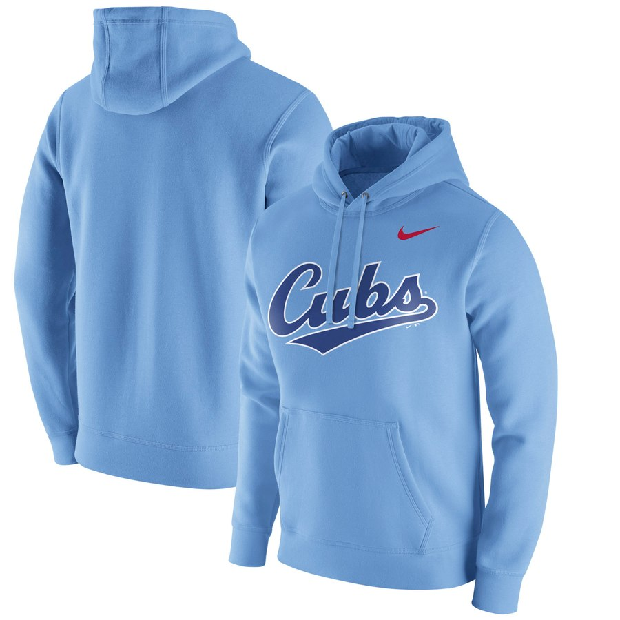 Chicago Cubs Nike Franchise Hoodie Blue