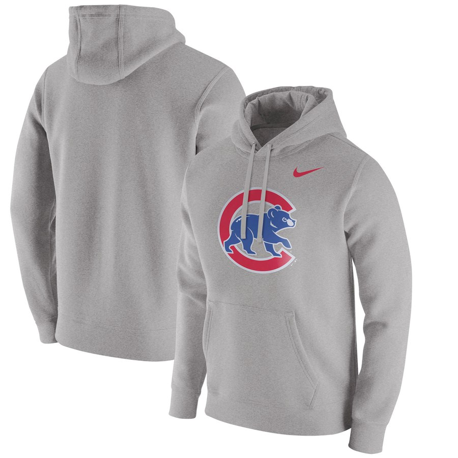 Chicago Cubs Nike Franchise Hoodie Gray