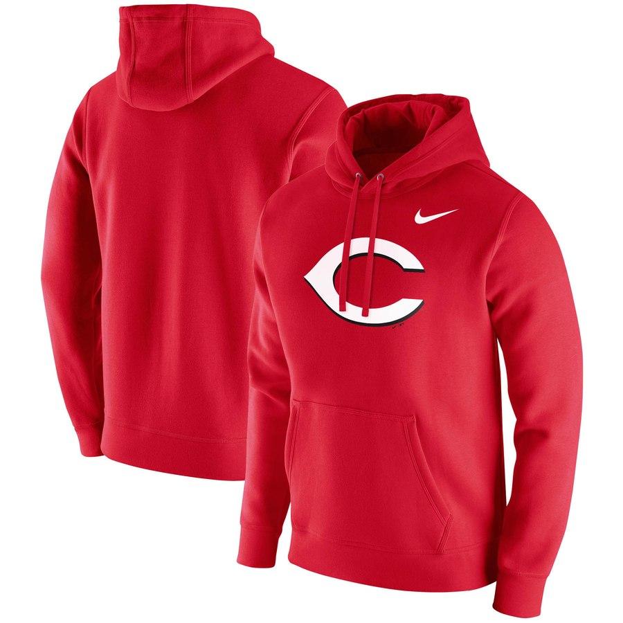 Cincinnati Reds Nike Franchise Hoodie Red
