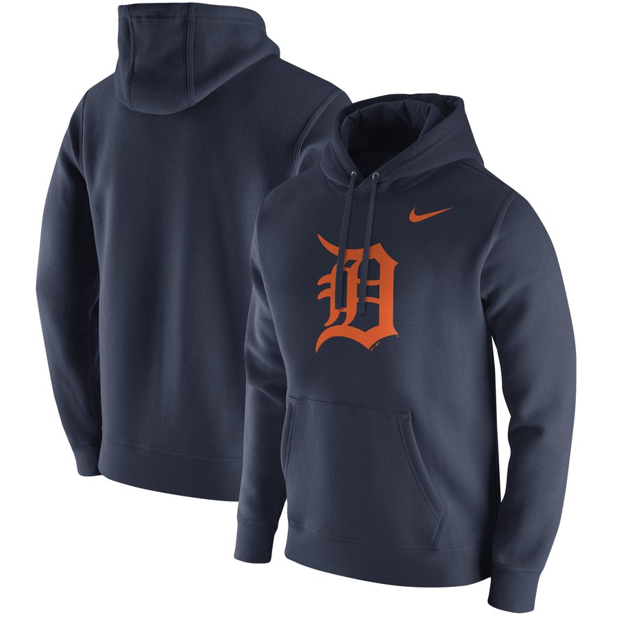 Detroit Tigers Nike Franchise Hoodie Navy