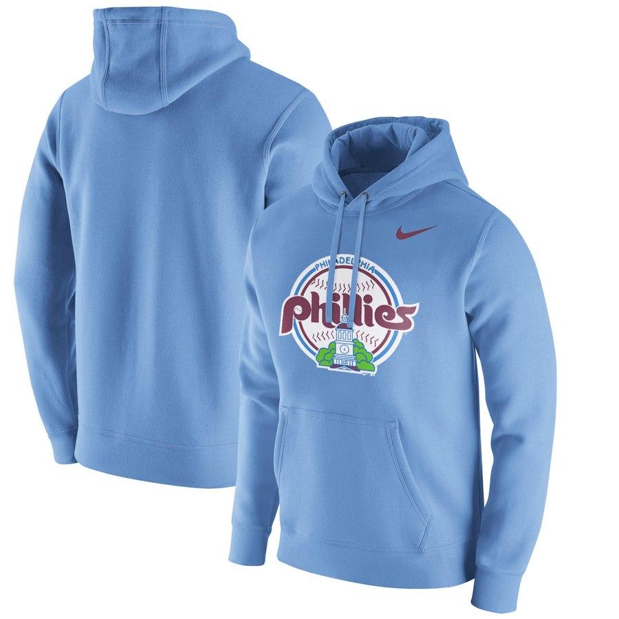 Philadelphia Phillies Nike Franchise Hoodie Blue