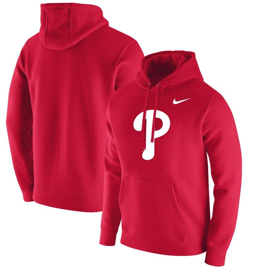 Philadelphia Phillies Nike Franchise Hoodie Red