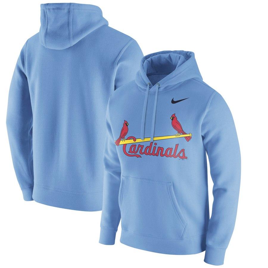 St. Louis Cardinals Nike Franchise Hoodie Blue