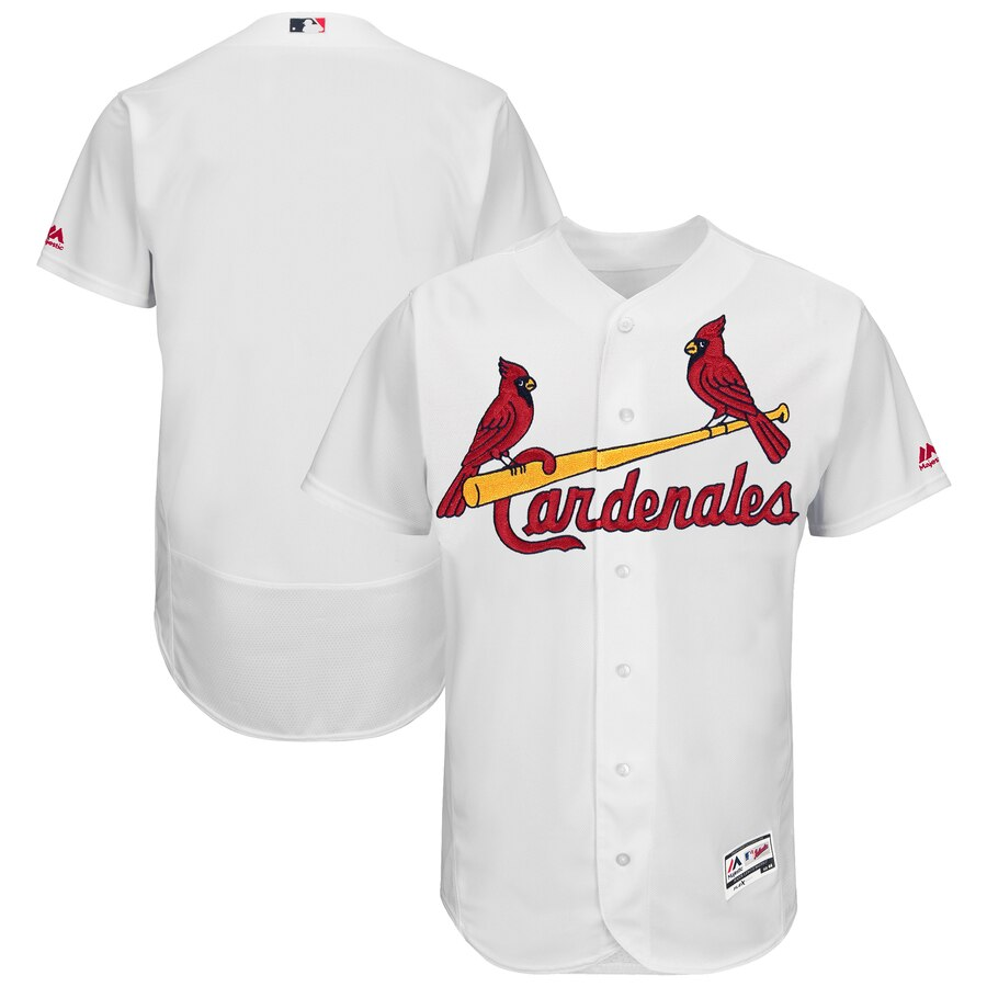 St. Louis Cardinals Majestic 2019 Hispanic Heritage Flex Base Authentic Team Jersey White