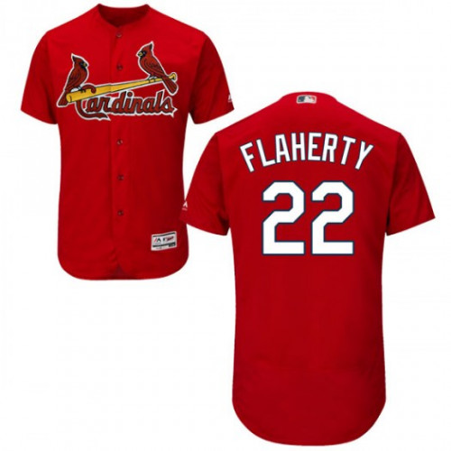 Cardinals #22 Jack Flaherty Red Flexbase Authentic Collection Stitched MLB Jersey