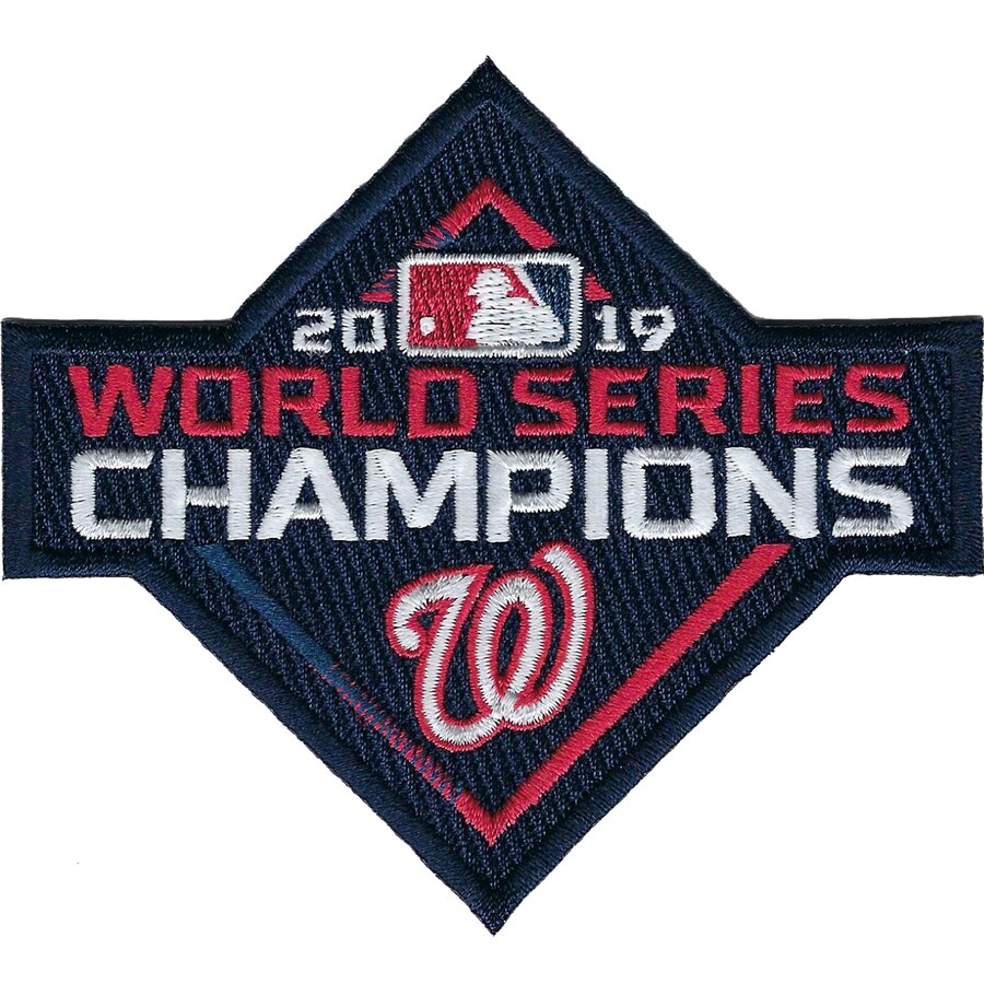Nationals Majestic 2019 World Series Champions Home Cool Base Patch