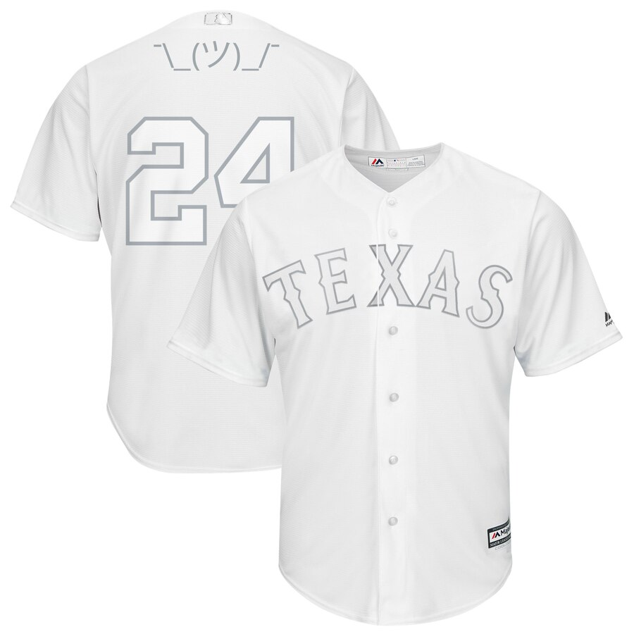 Texas Rangers #24 Hunter Pence Majestic 2019 Players' Weekend Cool Base Player Jersey White