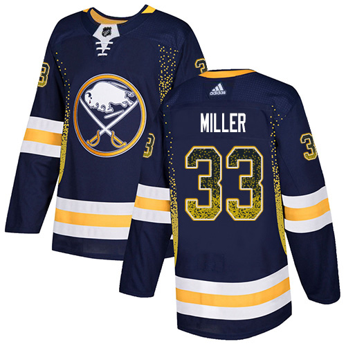 Adidas Sabres #33 Colin Miller Navy Blue Home Authentic Drift Fashion Stitched NHL Jersey