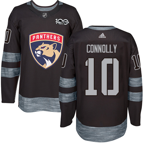 Adidas Panthers #10 Brett Connolly Black 1917-2017 100th Anniversary Stitched NHL Jersey