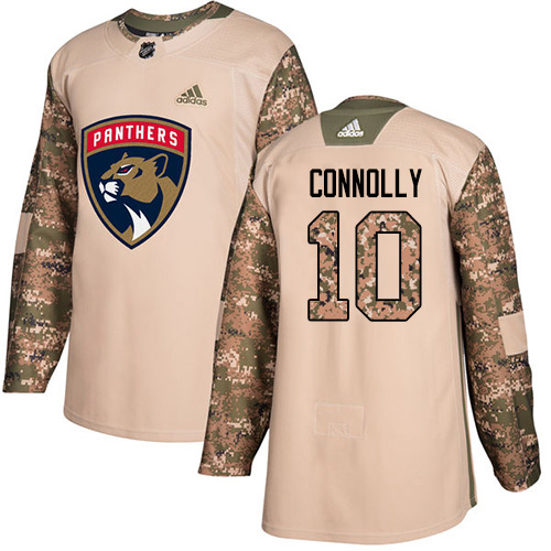 Adidas Panthers #10 Brett Connolly Camo Authentic 2017 Veterans Day Stitched NHL Jersey