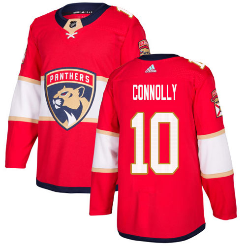 Adidas Panthers #10 Brett Connolly Red Home Authentic Stitched NHL Jersey