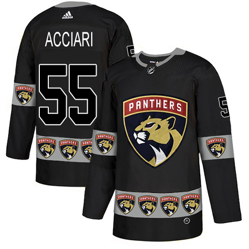 Adidas Panthers #55 Noel Acciari Black Authentic Team Logo Fashion Stitched NHL Jersey