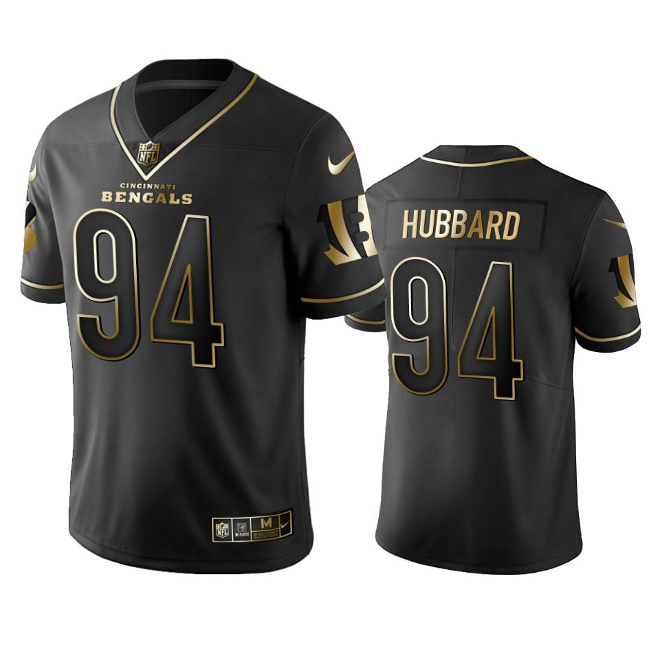 Bengals #94 Sam Hubbard Men's Stitched NFL Vapor Untouchable Limited Black Golden Jersey