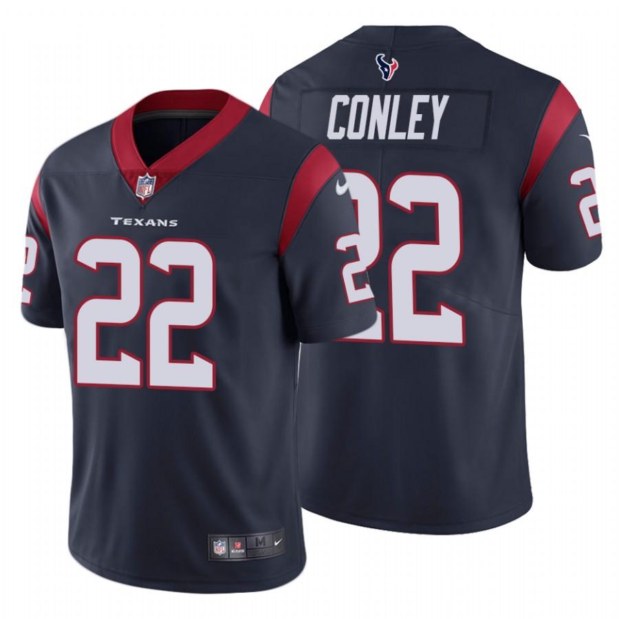 Nike Texans #22 Gareon Conley Men's Navy Vapor Untouchable Limited NFL Jersey