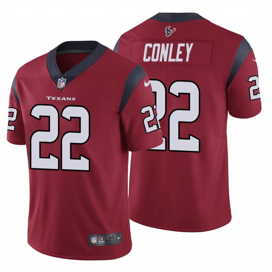 Nike Texans #22 Gareon Conley Men's Red Vapor Untouchable Limited NFL Jersey