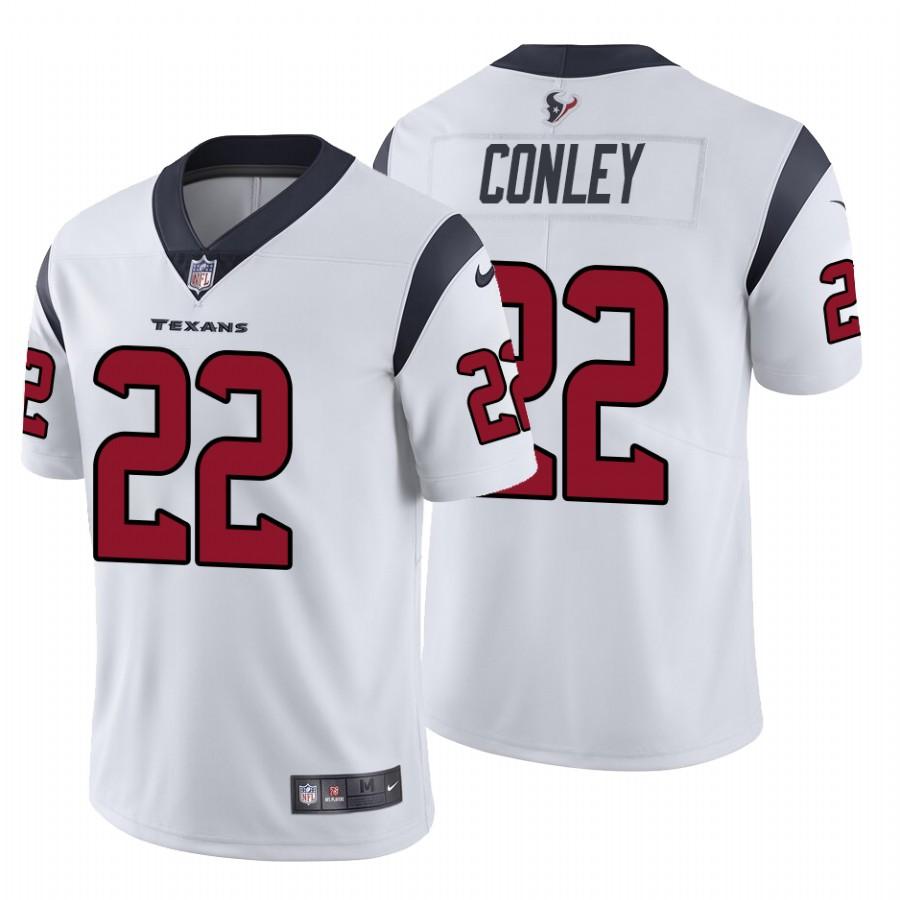 Nike Texans #22 Gareon Conley Men's White Vapor Untouchable Limited NFL Jersey