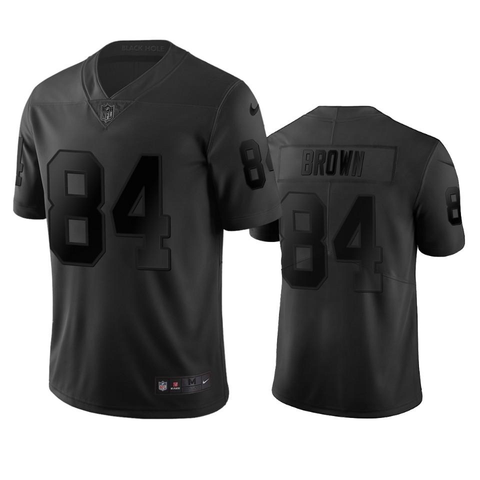 Oakland Raiders #84 Antonio Brown Black Vapor Limited City Edition NFL Jersey