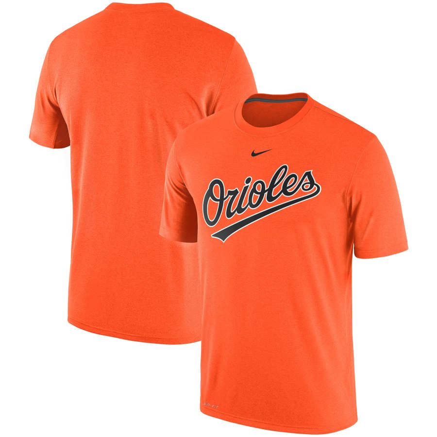 Baltimore Orioles Nike Legend Primary Logo Performance T-Shirt Orange