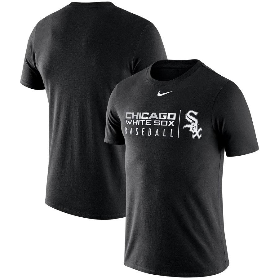 Chicago White Sox Nike MLB Practice T-Shirt Black