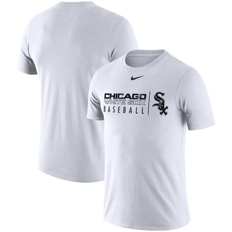 Chicago White Sox Nike MLB Practice T-Shirt White