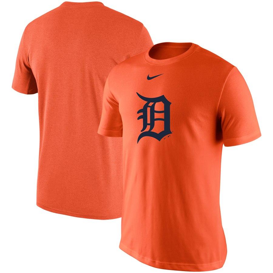Detroit Tigers Nike Legend Batting Practice Primary Logo Performance T-Shirt Orange