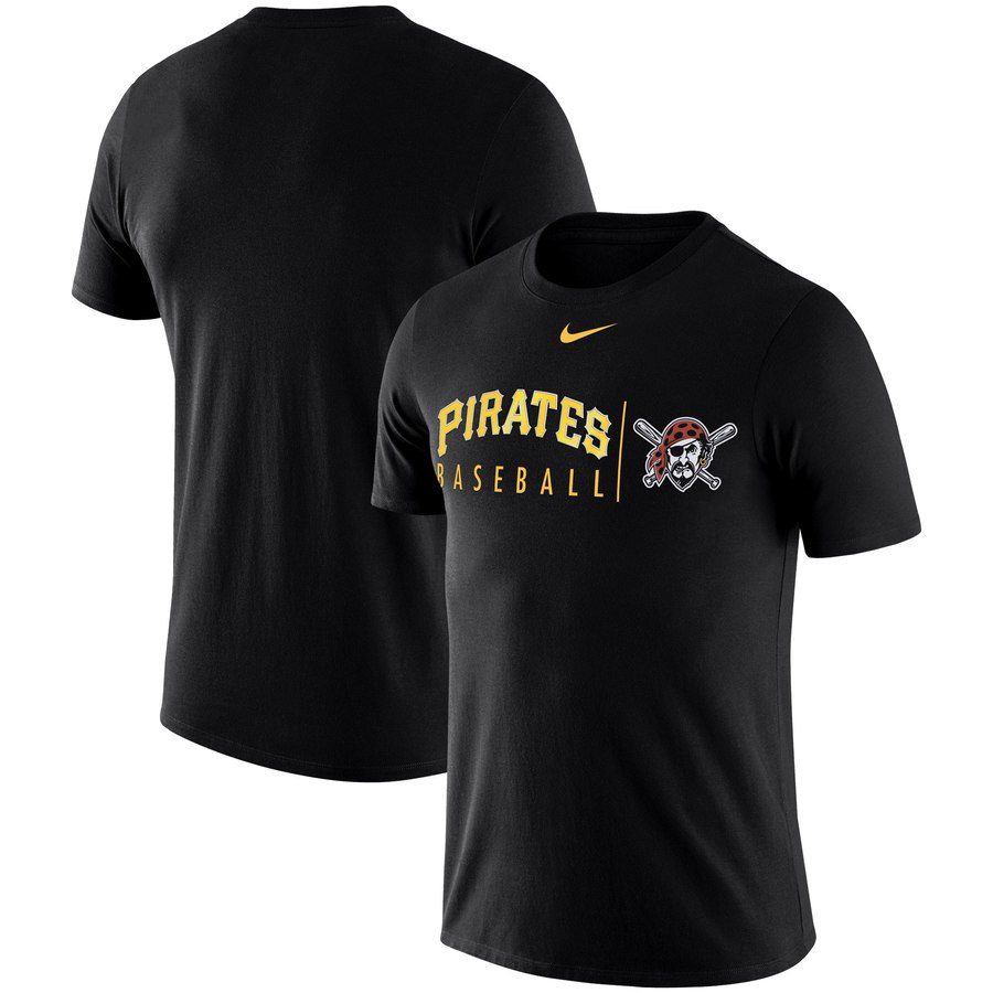 Pittsburgh Pirates Nike MLB Practice T-Shirt Black