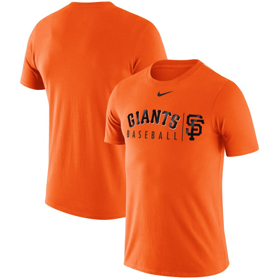 San Francisco Giants Nike MLB Practice T-Shirt Orange