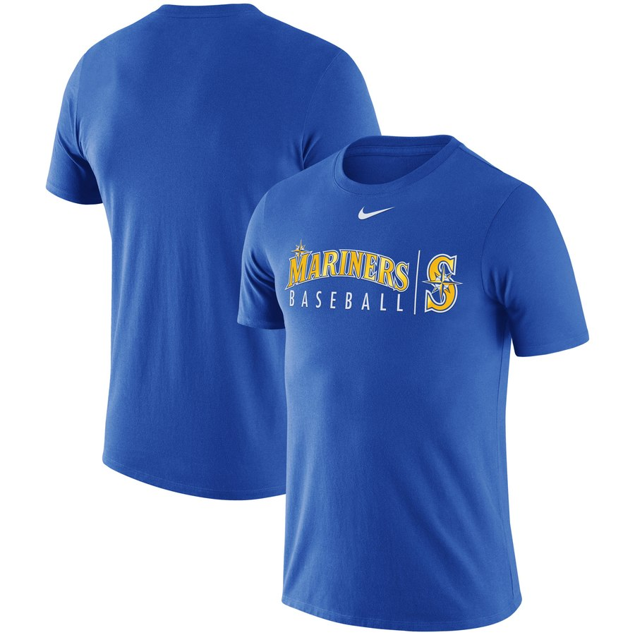 Seattle Mariners Nike MLB Practice T-Shirt Royal