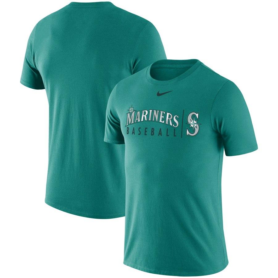 Seattle Mariners Nike MLB Practice T-Shirt Teal