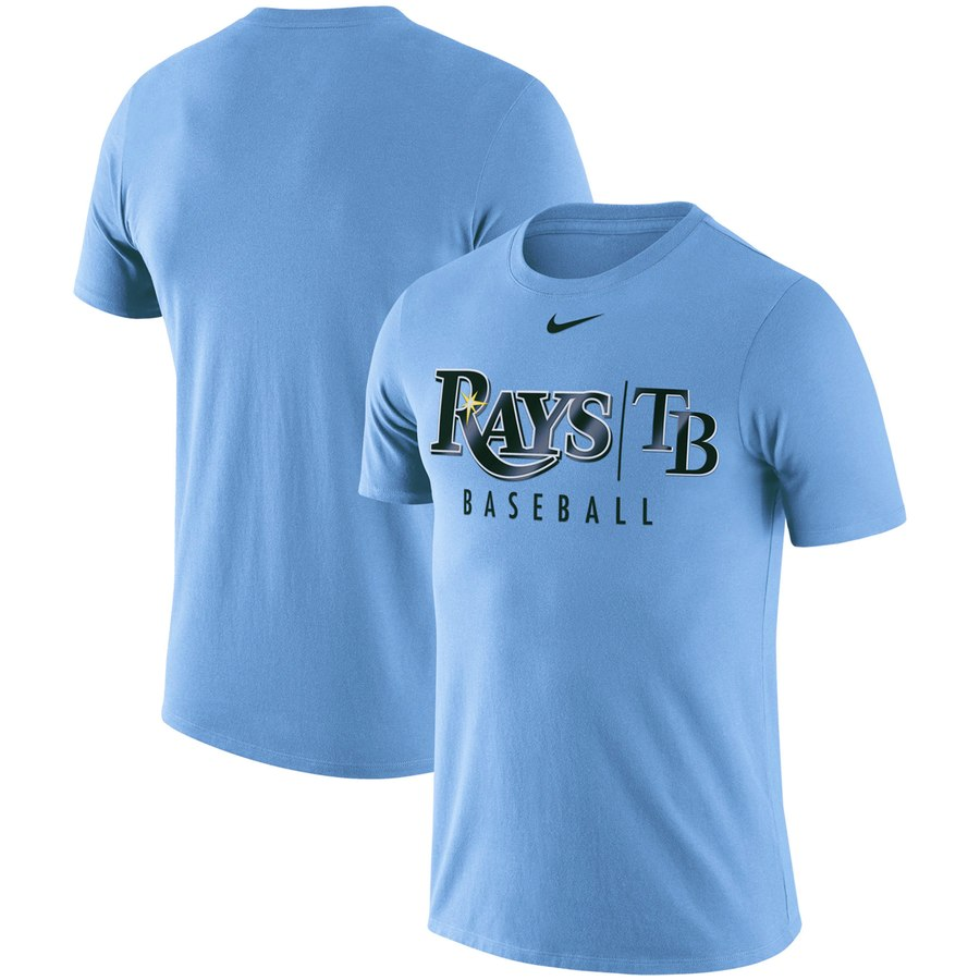 Tampa Bay Rays Nike 2019 Practice T-Shirt Blue