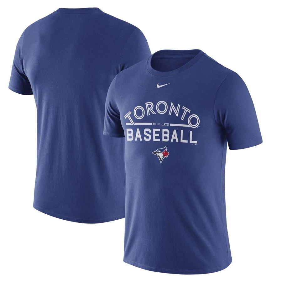 Toronto Blue Jays Nike Away Practice T-Shirt Royal