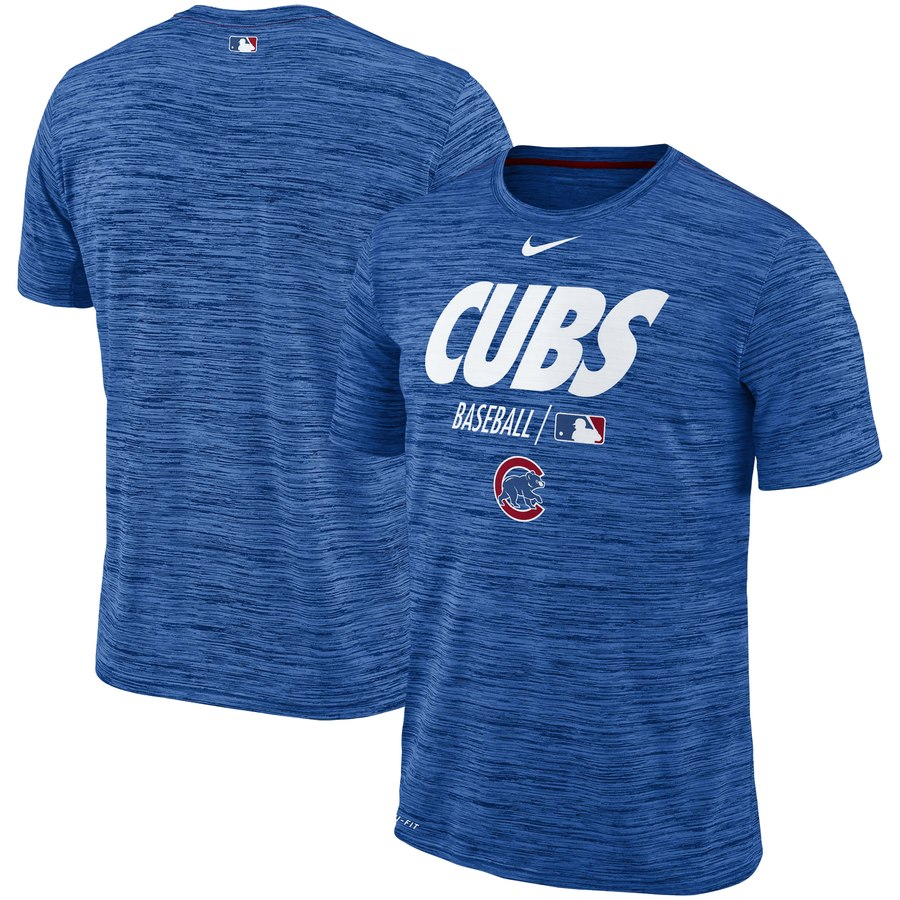 Chicago Cubs Nike Authentic Collection Velocity Team Issue Performance T-Shirt Royal