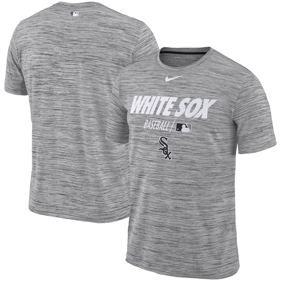 Chicago White Sox Nike Authentic Collection Velocity Team Issue Performance T-Shirt Gray