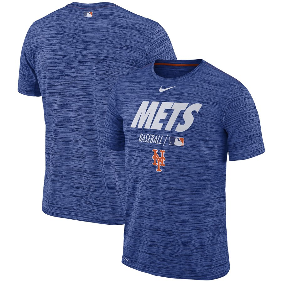 New York Mets Nike Authentic Collection Velocity Team Issue Performance T-Shirt Royal