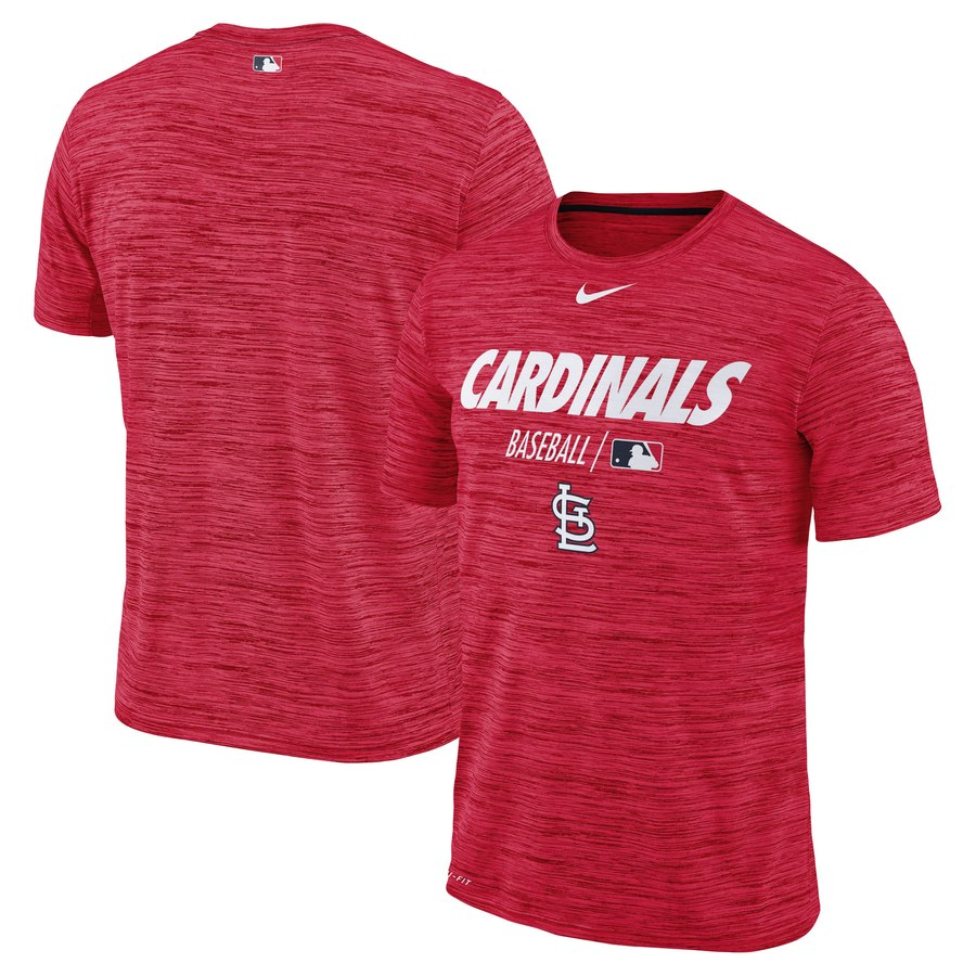 St. Louis Cardinals Nike Authentic Collection Velocity Team Issue Performance T-Shirt Red