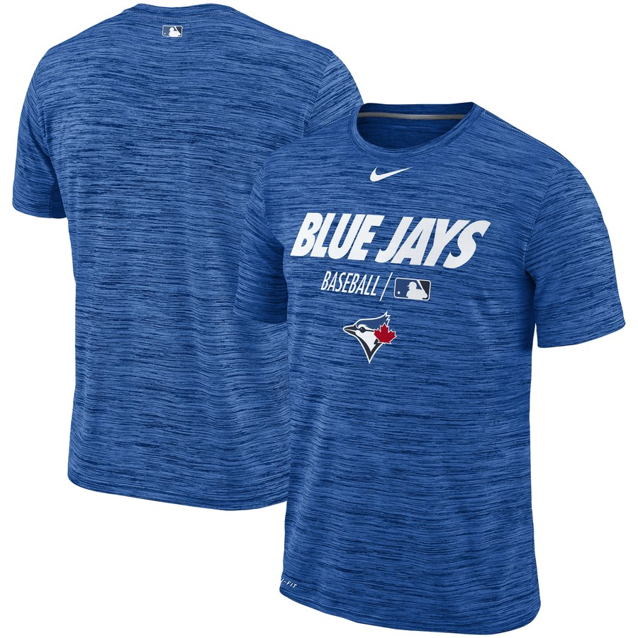 Toronto Blue Jays Nike Authentic Collection Velocity Team Issue Performance T-Shirt Royal