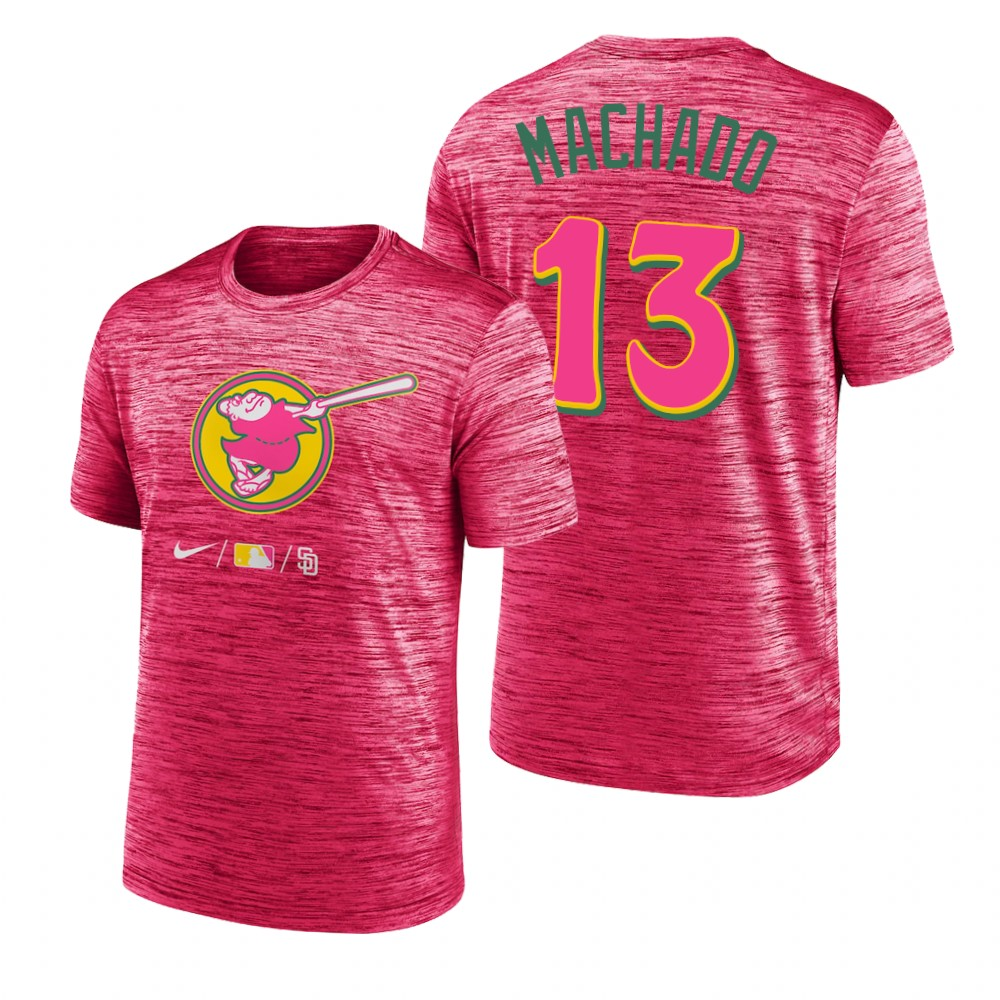 MLB Majestic 2019 London Series Primary Logo T-Shirt - Red