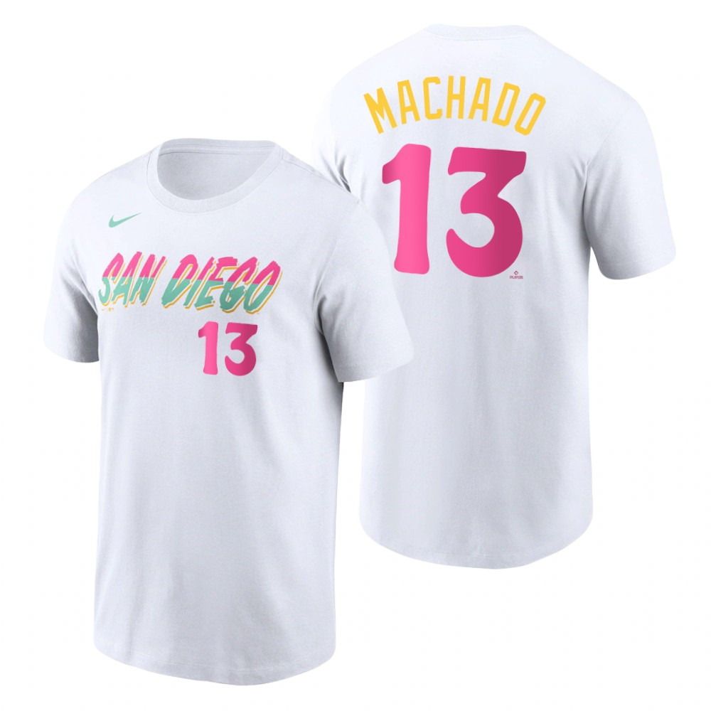 National League #22 Christian Yelich Majestic Women's 2019 MLB All-Star Game Name & Number V-Neck T-Shirt - Navy