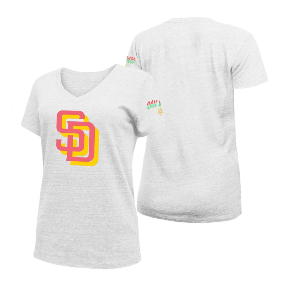 New York Yankees #42 Mariano Rivera Majestic Women's 2019 Hall of Fame Name & Number V-Neck T-Shirt Navy