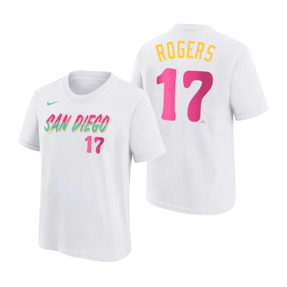 Nike Miami Marlins Gray Black Striped Logo Performance T-Shirt