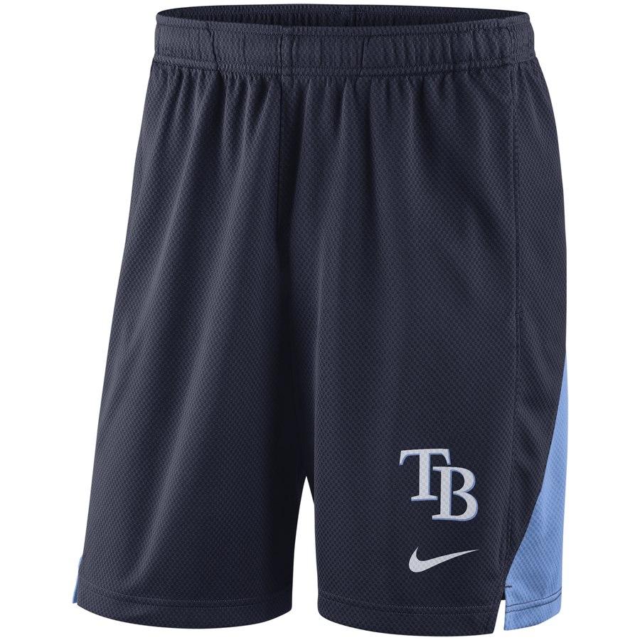 Tampa Bay Rays Nike Franchise Performance Shorts Navy