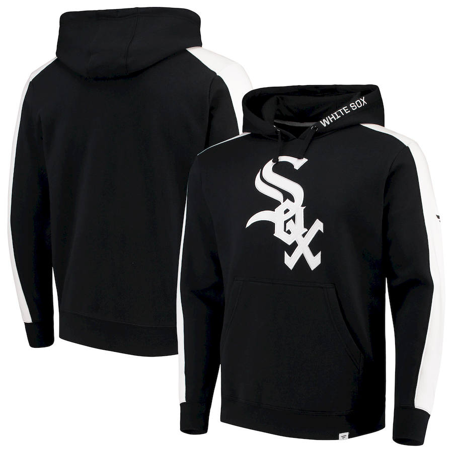 Chicago White Sox Fanatics Branded Iconic Fleece Pullover Hoodie Black