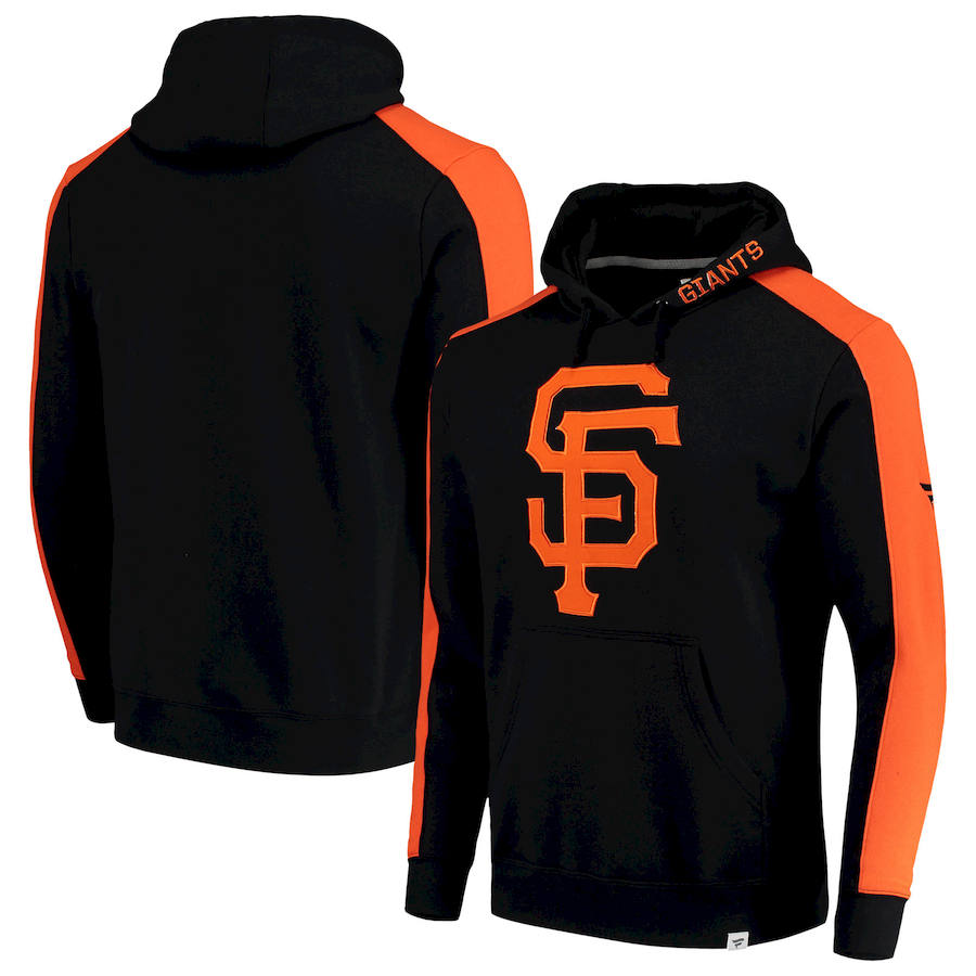 San Francisco Giants Fanatics Branded Iconic Fleece Pullover Hoodie Black
