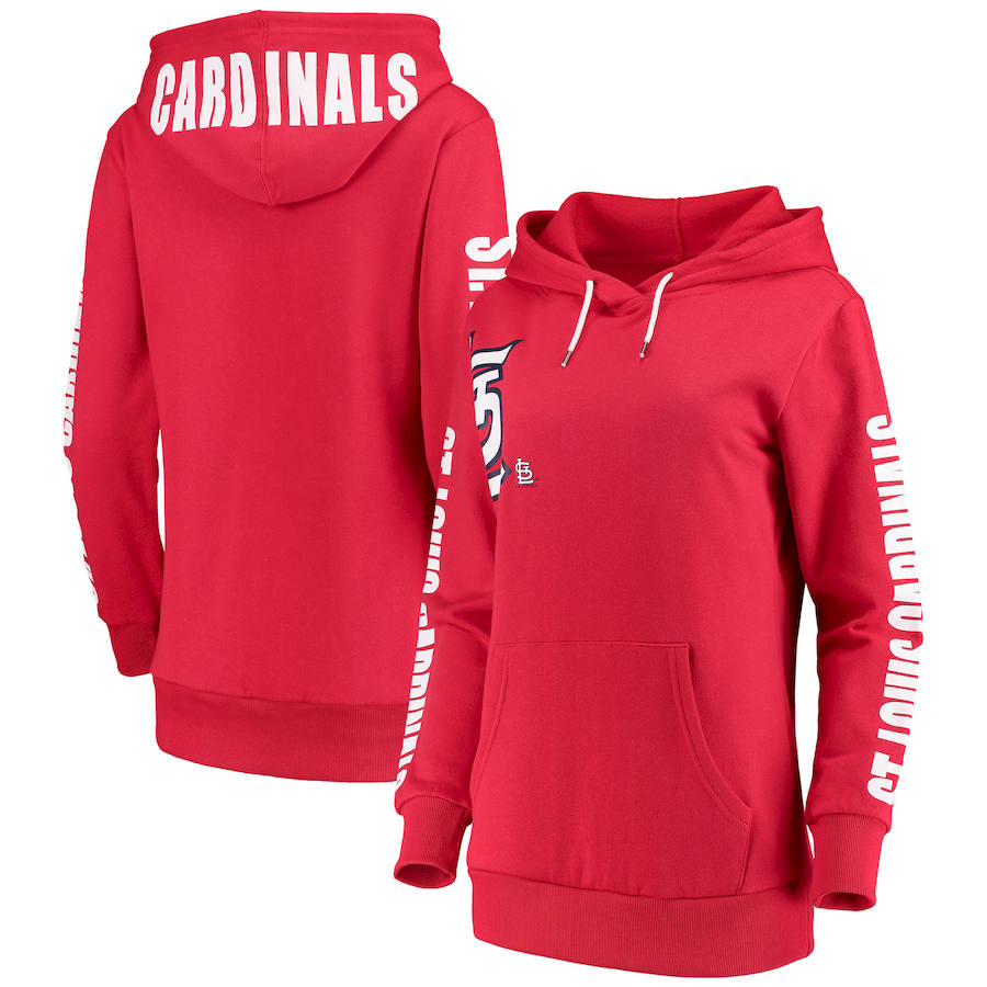 St. Louis Cardinals G-III 4Her by Carl Banks Women's 12th Inning Pullover Hoodie Red