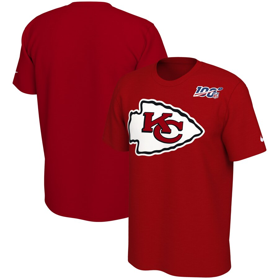 Kansas City Chiefs Nike Primary Logo Legend NFL 100 Performance T-Shirt Red