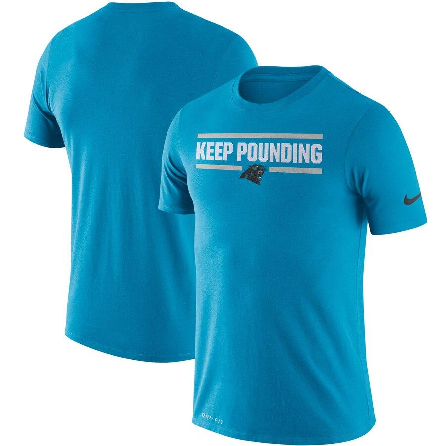 Carolina Panthers Nike Sideline Local Performance T-Shirt Blue