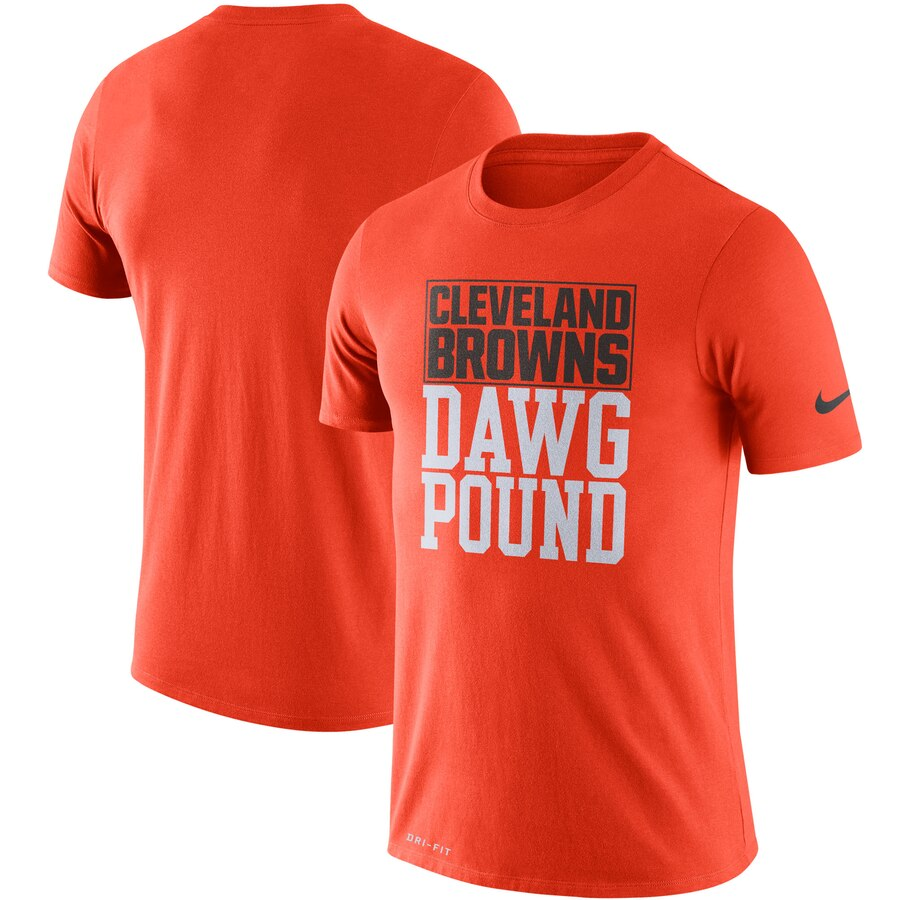 Cleveland Browns Nike Sideline Local Performance T-Shirt Orange