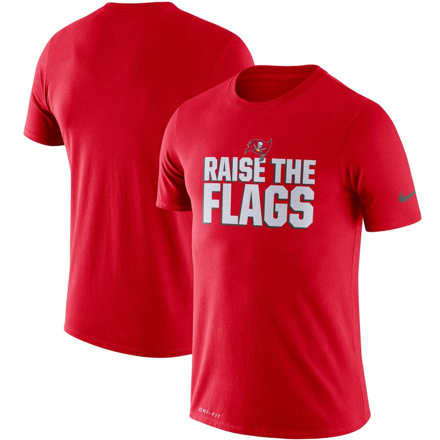 Tampa Bay Buccaneers Nike Sideline Local Performance T-Shirt Red